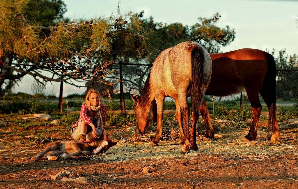 Моя миссия выполнена, отдыхаем вместе с родными девчонками :) Фотография Павла Ермилова